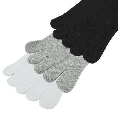 3 Pairs Socks Five Finger Socks Toe Socks