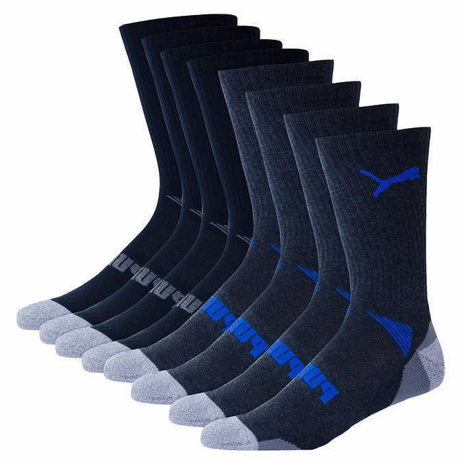 4 PACK!! Crew Socks - CELL Shoe Size