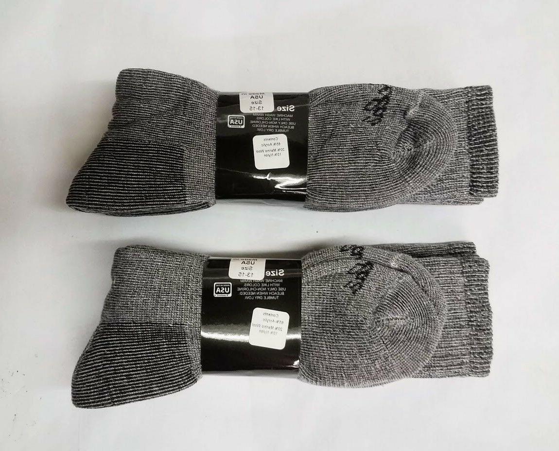 4 Grey Acrylic/MERINO Men's
