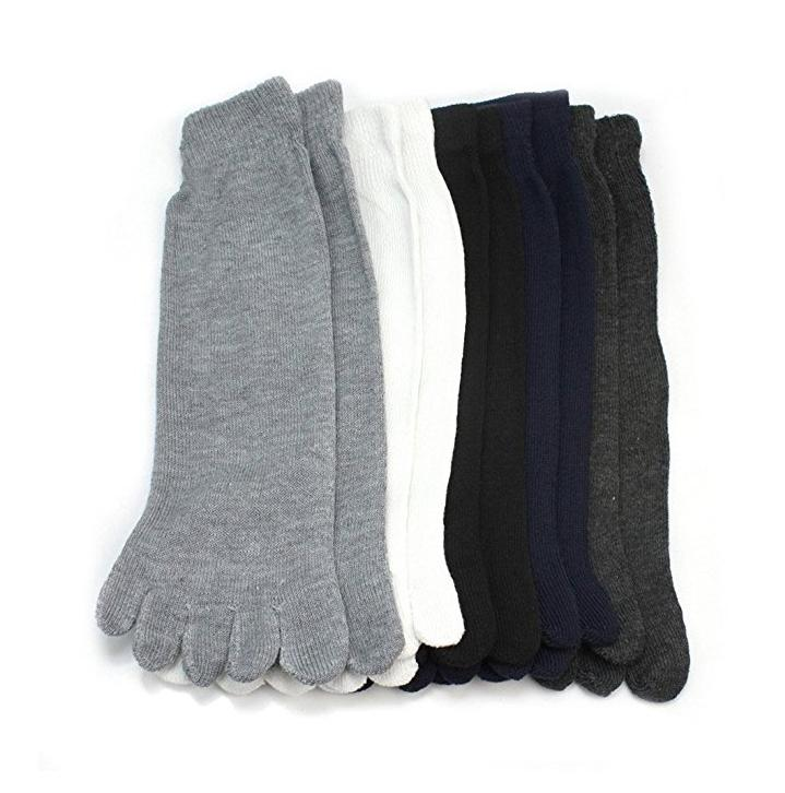 5 pairs fashion men unisex five fingers