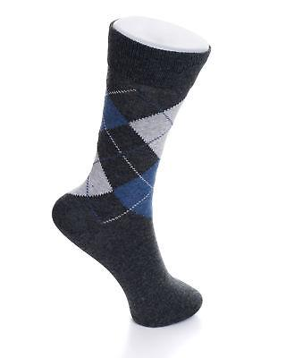 Mens Mid Argyle Pattern Solids