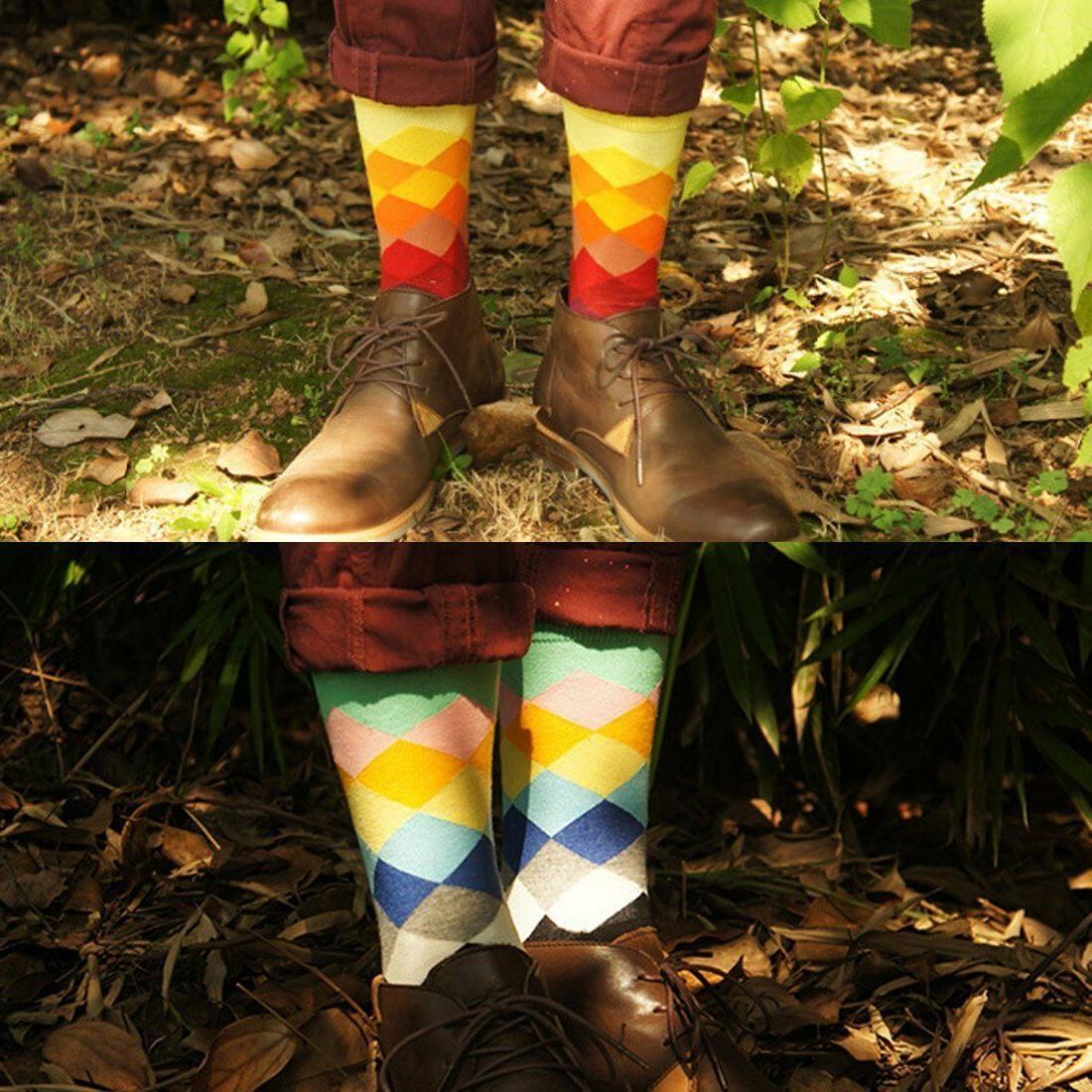 6-Pair Rainbow Fits Shoe 6-12