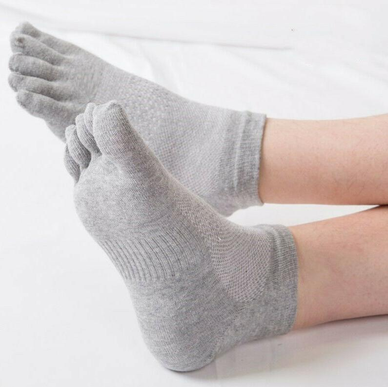 6 Mens Cotton Toe Low Cut