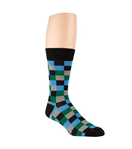 Men's and Casual Socks - Pack Fun Patterns and - Crew, Blend