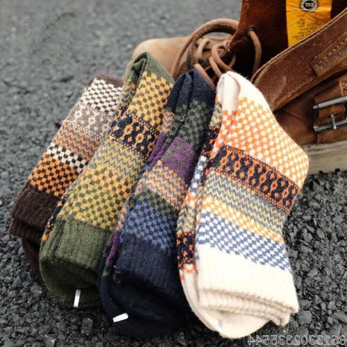 New 4 Pairs Mens Wool Mixture Angora Cashmere Warm Soft Thic