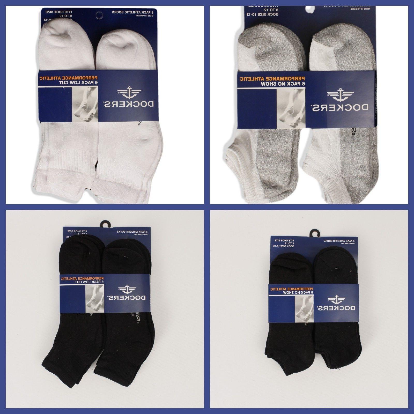 athletic socks 6 pack men size 10