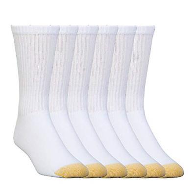 big tall cotton crew socks