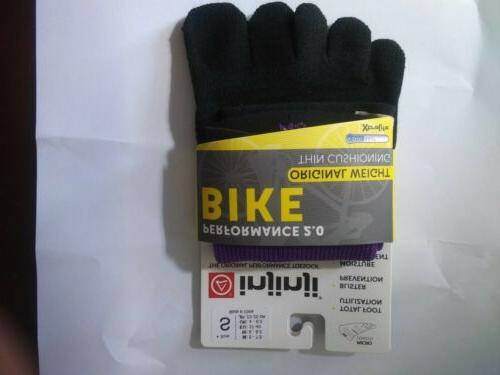 Injinji Bike Toe Micro Performance SZ S MEN 5-7.5 WOMEN 6 8.5