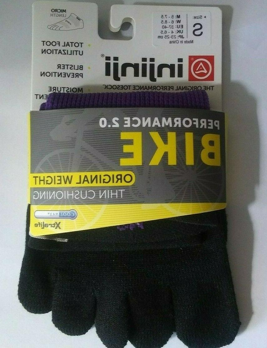 bike toe socks micro length performance 2