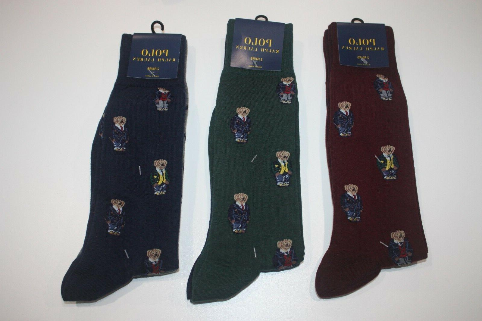 Brand Polo Lauren 2-Pack Socks US FAST