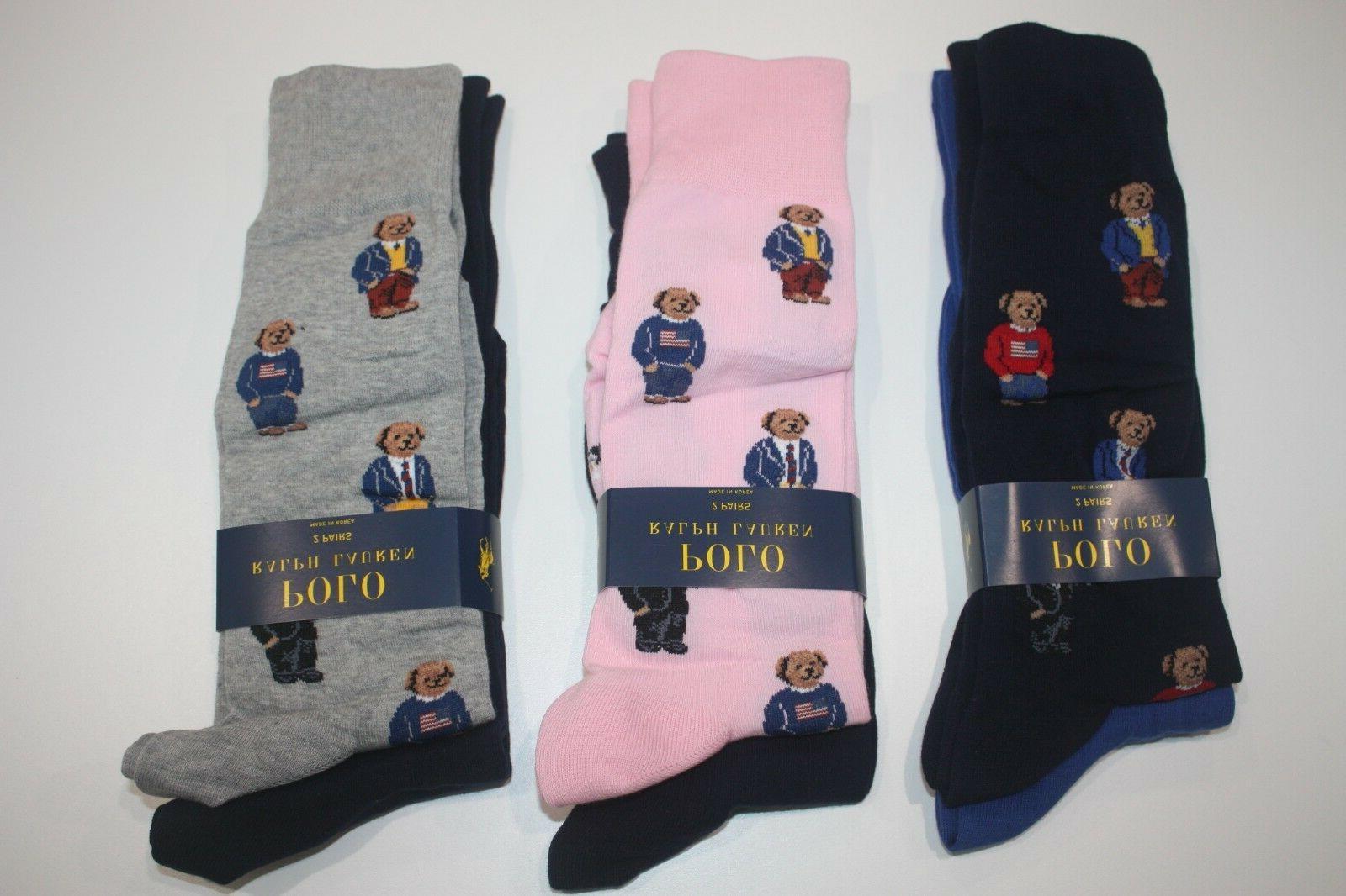 Brand Lauren 2-Pack Socks US