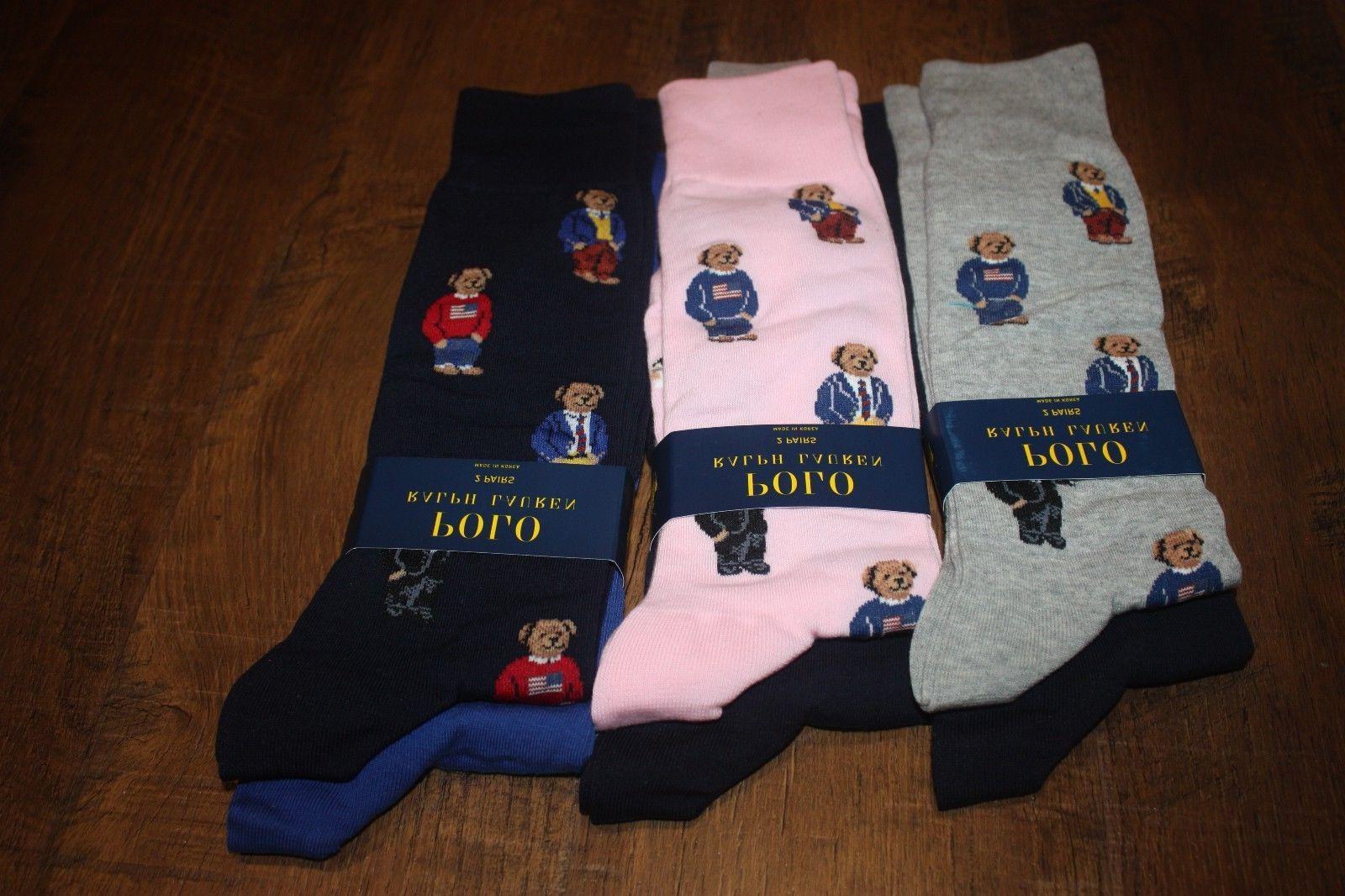 Brand New Lauren 2-Pack Socks US FAST