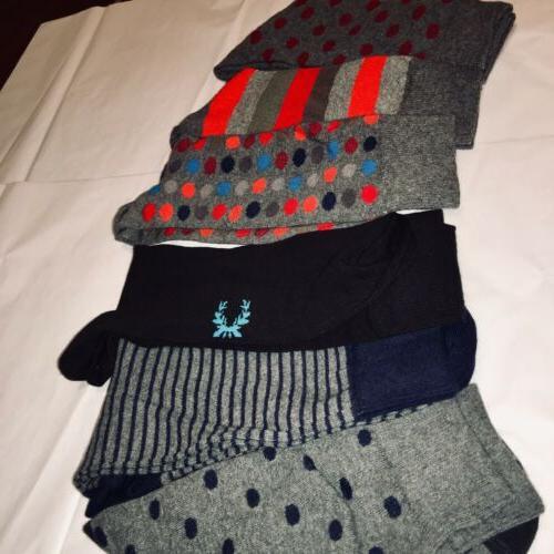 Brand New Mens 6 Patterned Socks
