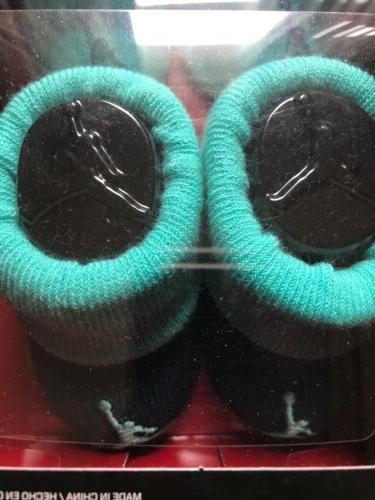 Brand New Jump Man Newborn Booties Socks