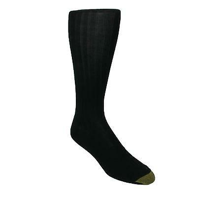 Gold Toe Men's Premium Over the Calf Canterbury Dress Socks,
