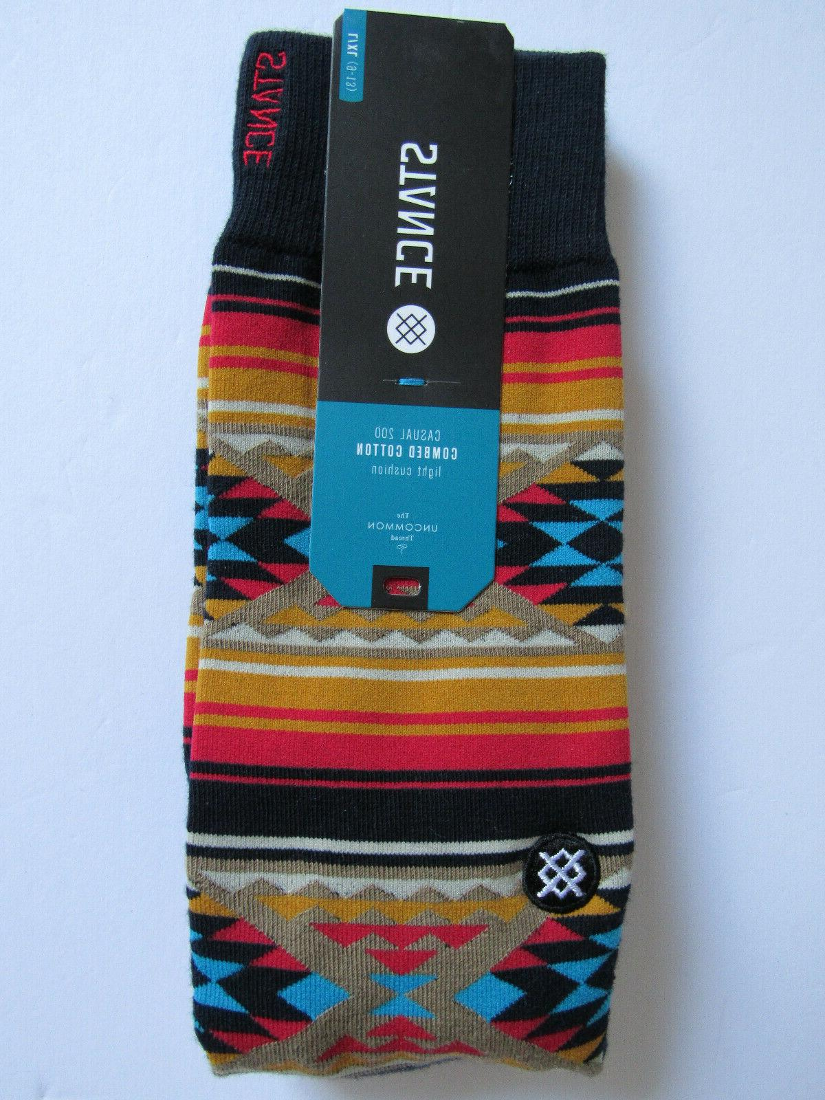 Stance Combed Light Cushion Socks Mens NWT Owens Multicolor