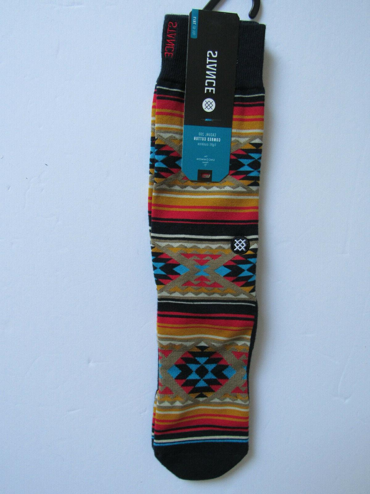 Stance Combed Cotton Cushion Socks Mens NWT Owens