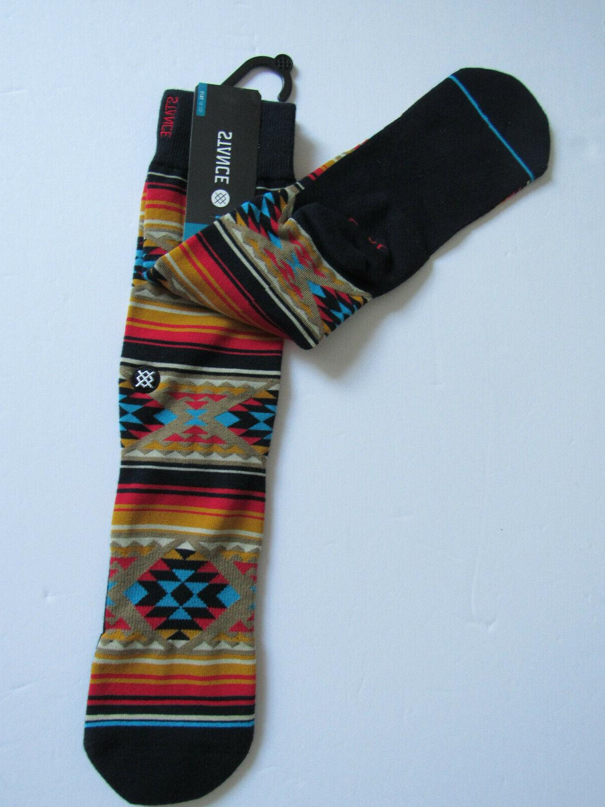 Stance Combed Cotton Light Cushion NWT Owens Multicolor