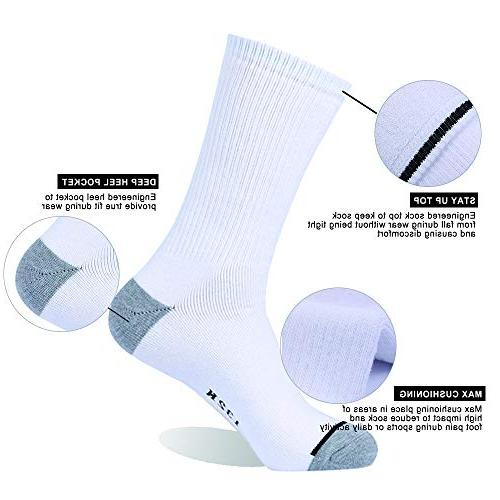 Enerwear 10P Pack Cotton Heavy Cushion Socks