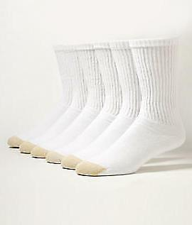 Gold Men's Crew Socks -