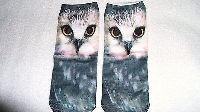 Cute Owl Animal Bird Socks Unisex Clothing Casual Men's Wome