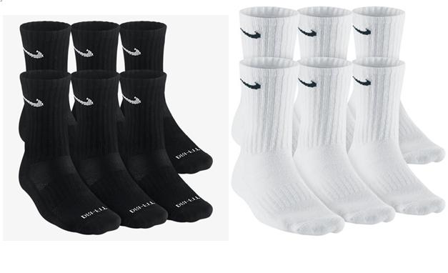 dri fit and performance cotton crew socks