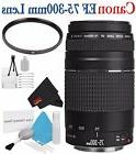 Canon EF 75-300mm f/4-5.6 III Telephoto Zoom Lens 6473A003 V