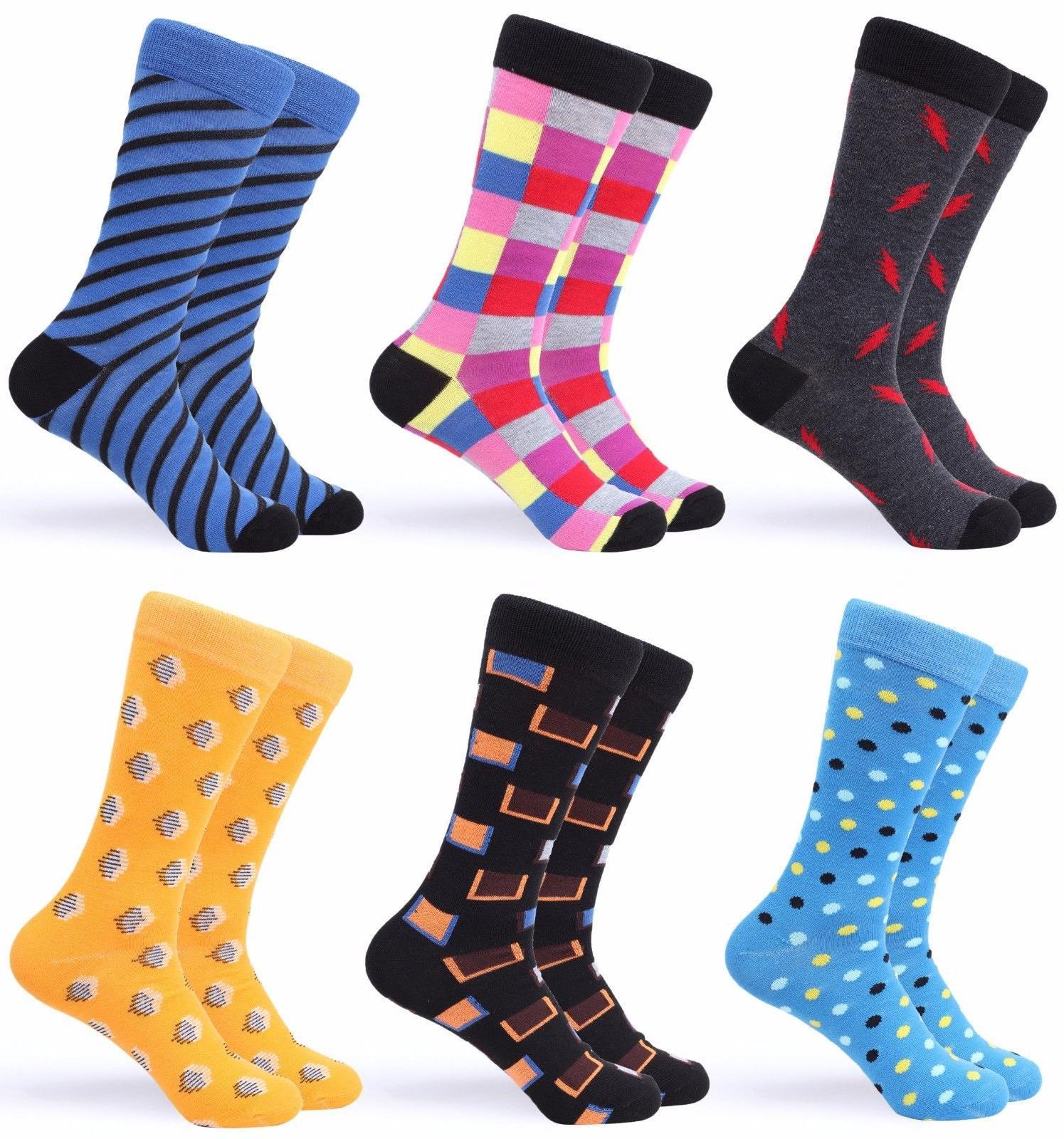 gallery seven mens dress socks funky colorful