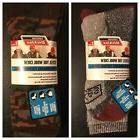 Genuine Dickies Men's Wool Thermal Steel Toe Crew Socks 2 Pa