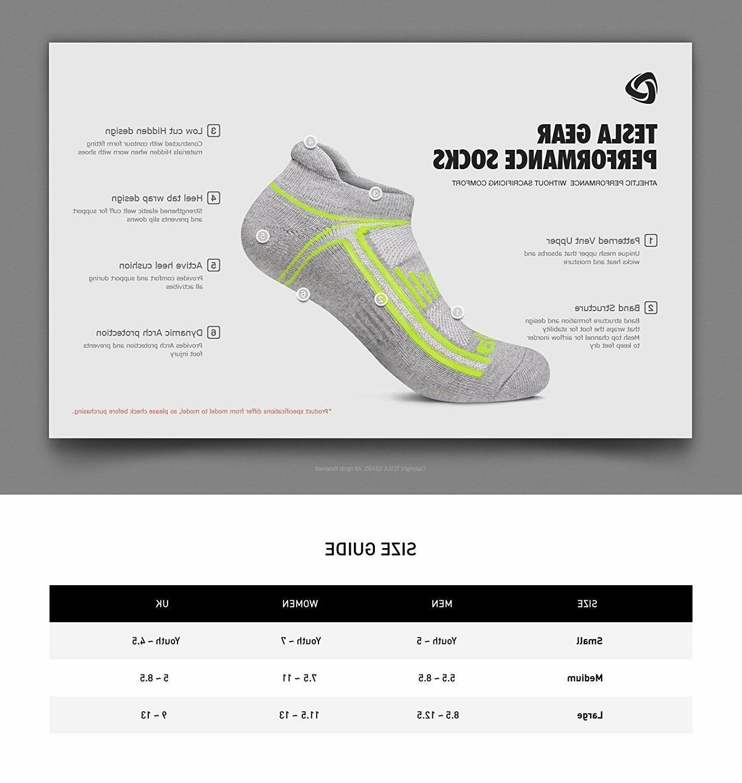Gray Medium Socks Athletic Running Show 6 Pack Pairs