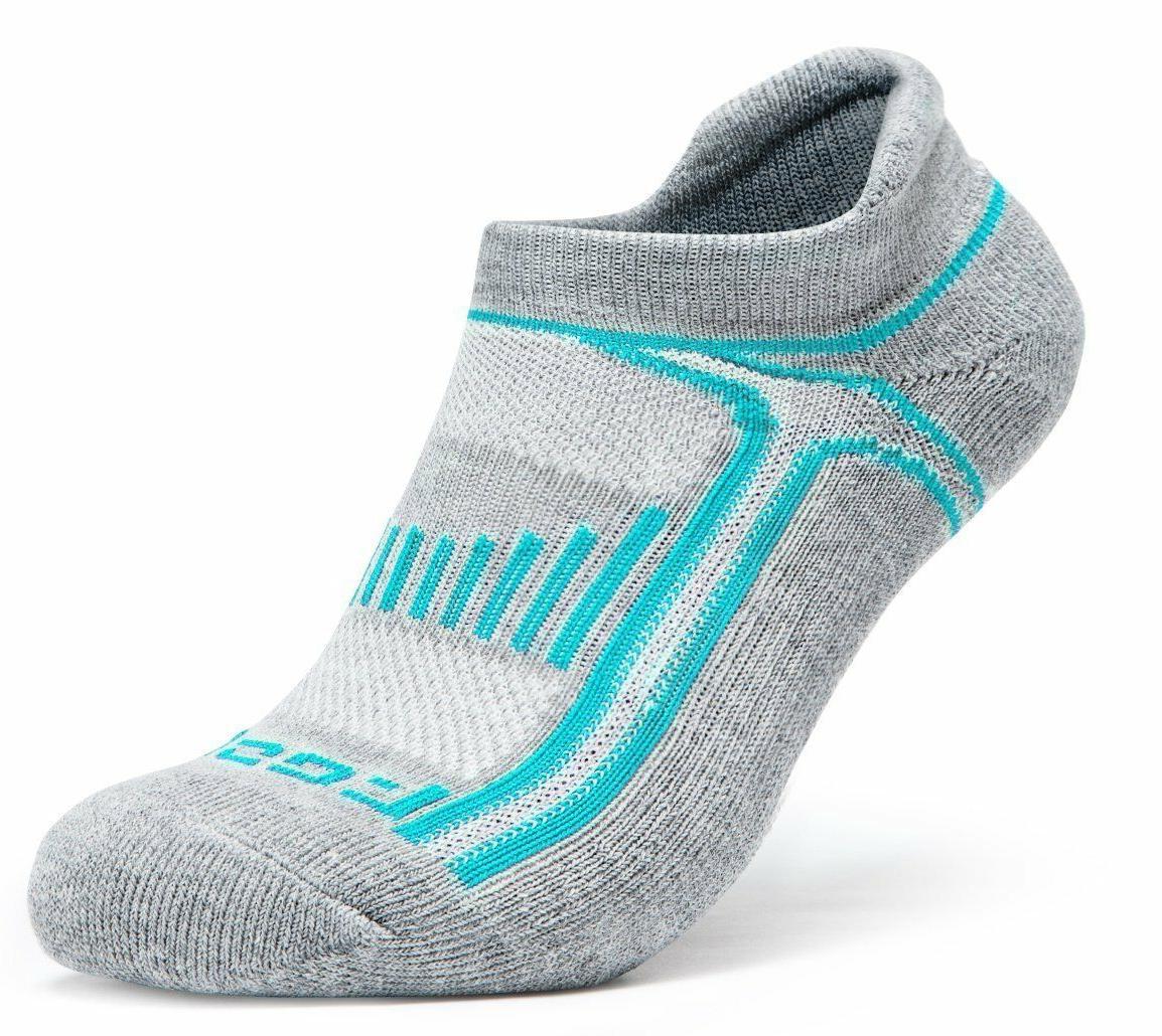 Gray Athletic 6 Pack Sock Pairs Men Neon