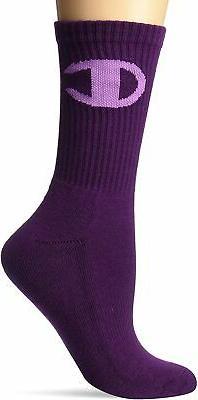 Champion LIFE Women's Big C Crew Sock
