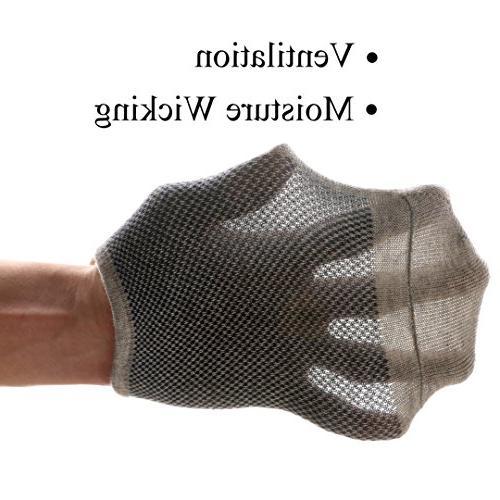 M&Z Cut Comfy Cotton Casual Non-Slip Socks
