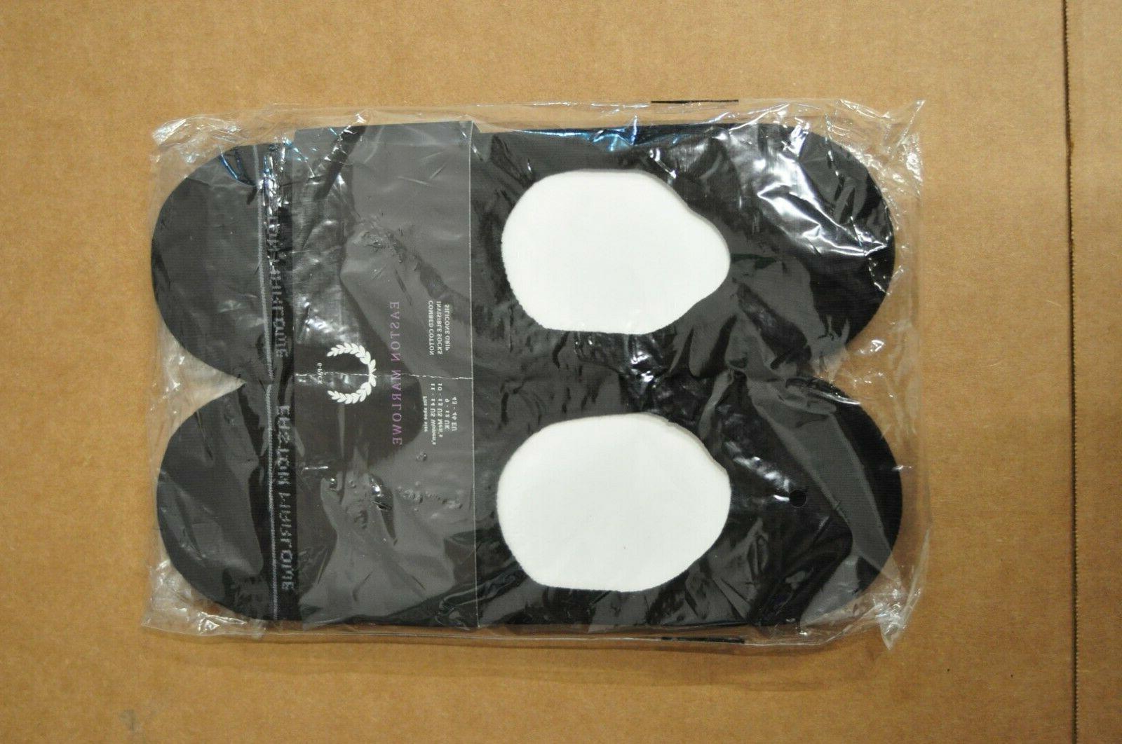 Easton Men: 10-13 invisible socks Cotton Silicone Color: Black