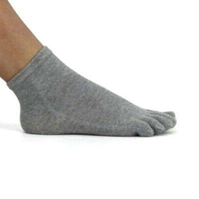 Men Fingers Socks Ankle Colors