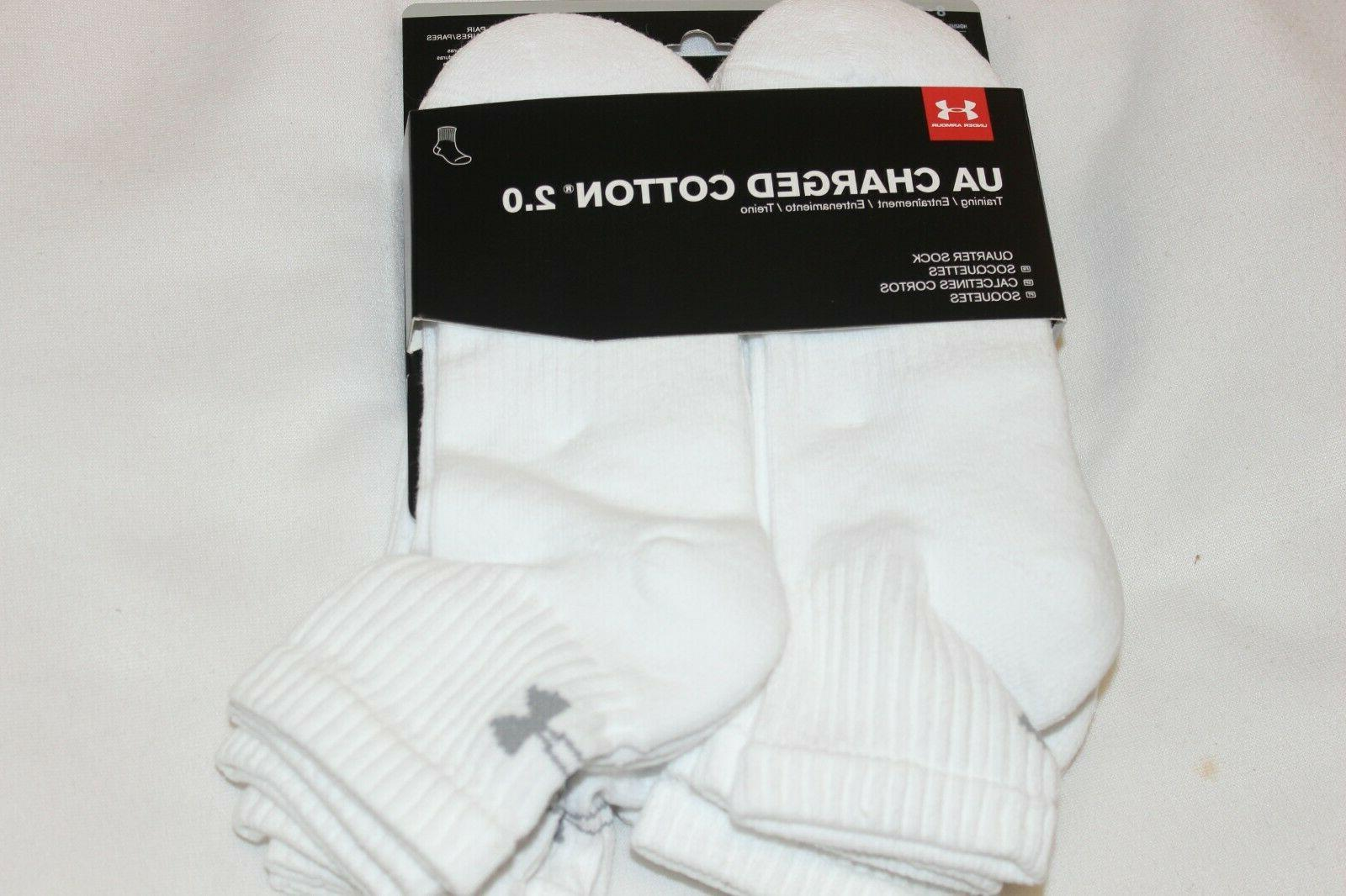 men charged cotton quarter socks