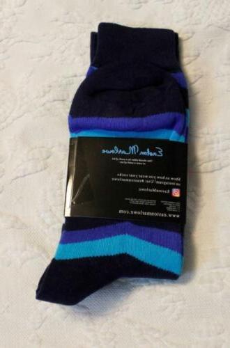 Easton Pack Socks Blue Size 10-13 NWT