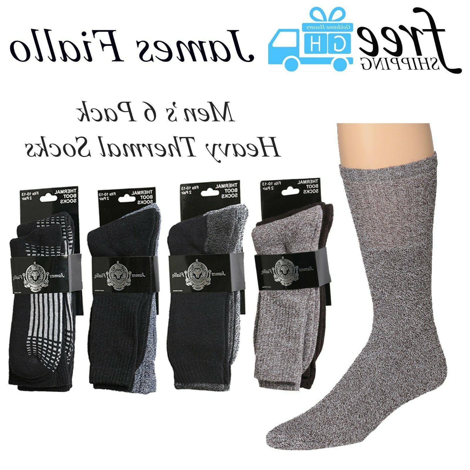 men s 6 pack boot socks