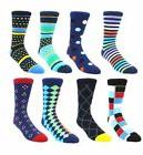 men s argyle crew socks classic colorful