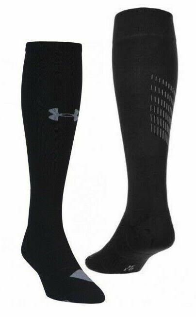 Under Armour Men's Compression Over the Calf Sock Medium  Bl