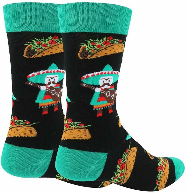 Zmart Fruit Socks, Pineapple Taco