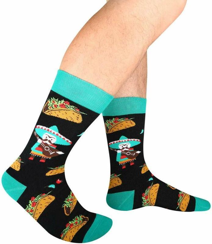 Zmart Crazy Fruit Socks, Novelty Pineapple Avocado