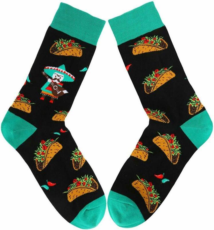 Zmart Men'S Food Fruit Socks, Pineapple