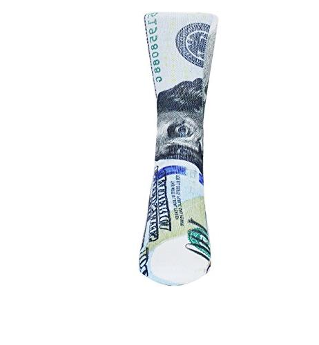 Zmart Novelty Money Print Funny Patterned Tube