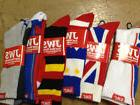 Men's Crew Socks in Crazy Colors and Designs Just Wear Socks