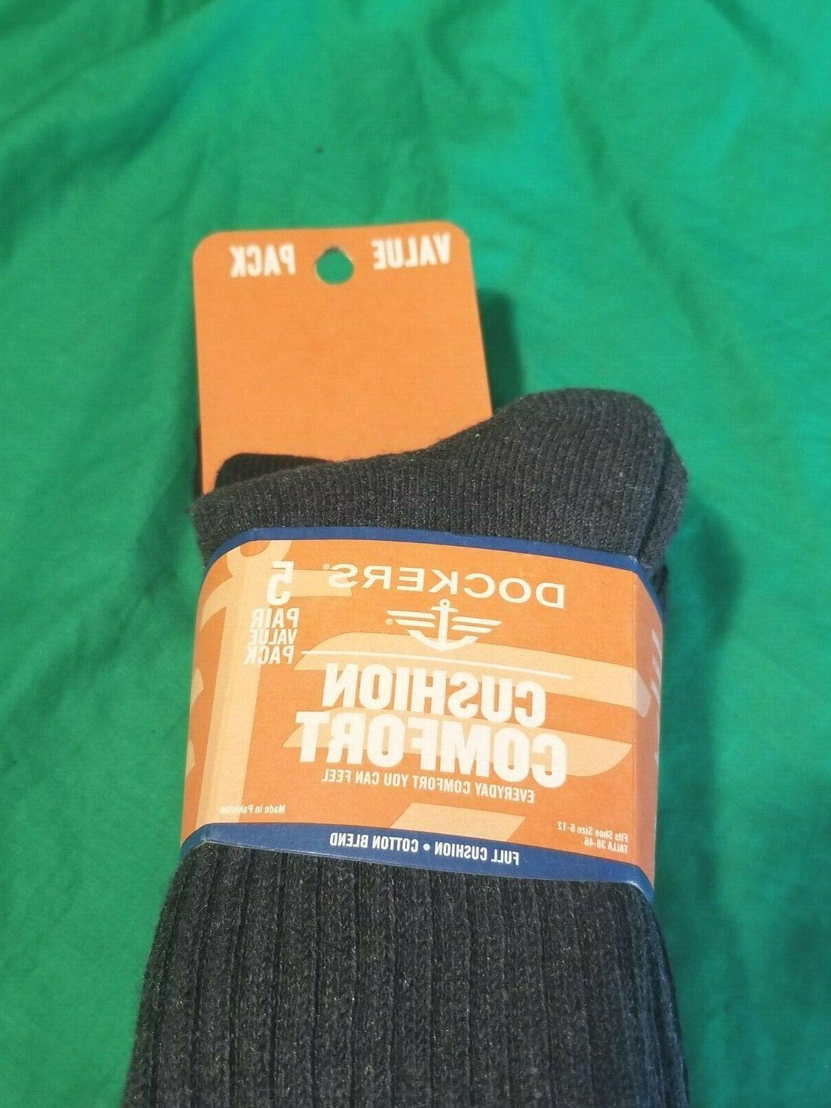 Dockers Crew Socks NWT 6-12