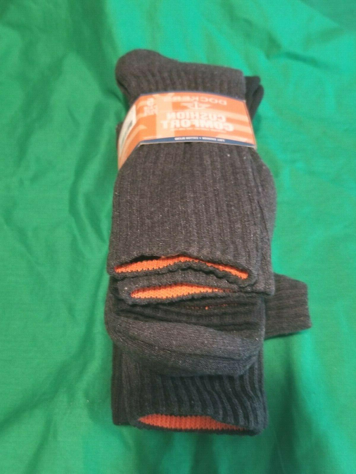 men s cushion comfort crew socks 5