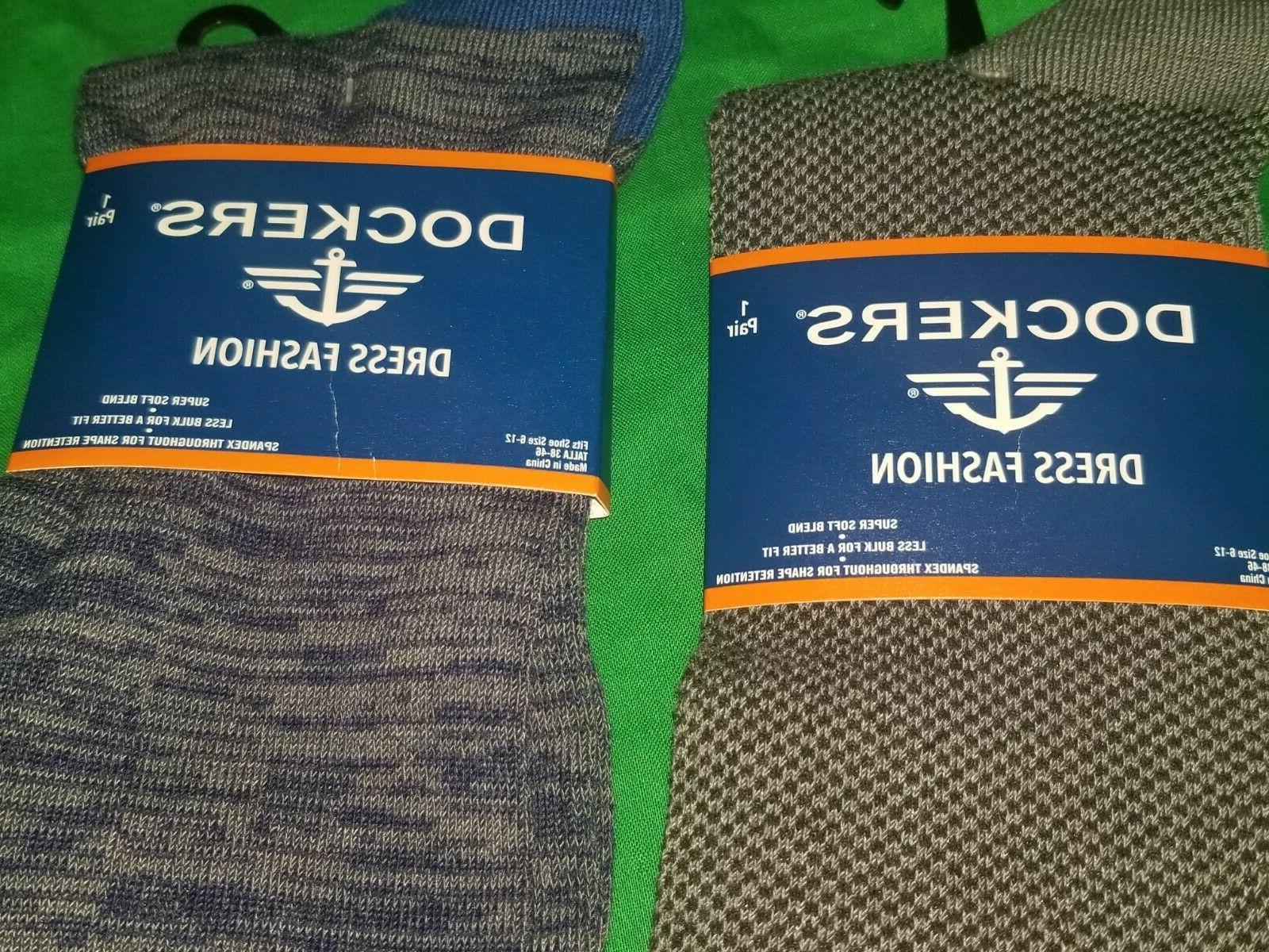 Dockers Dress 2 Gray & Blue Shoe Size 6-12 Blend