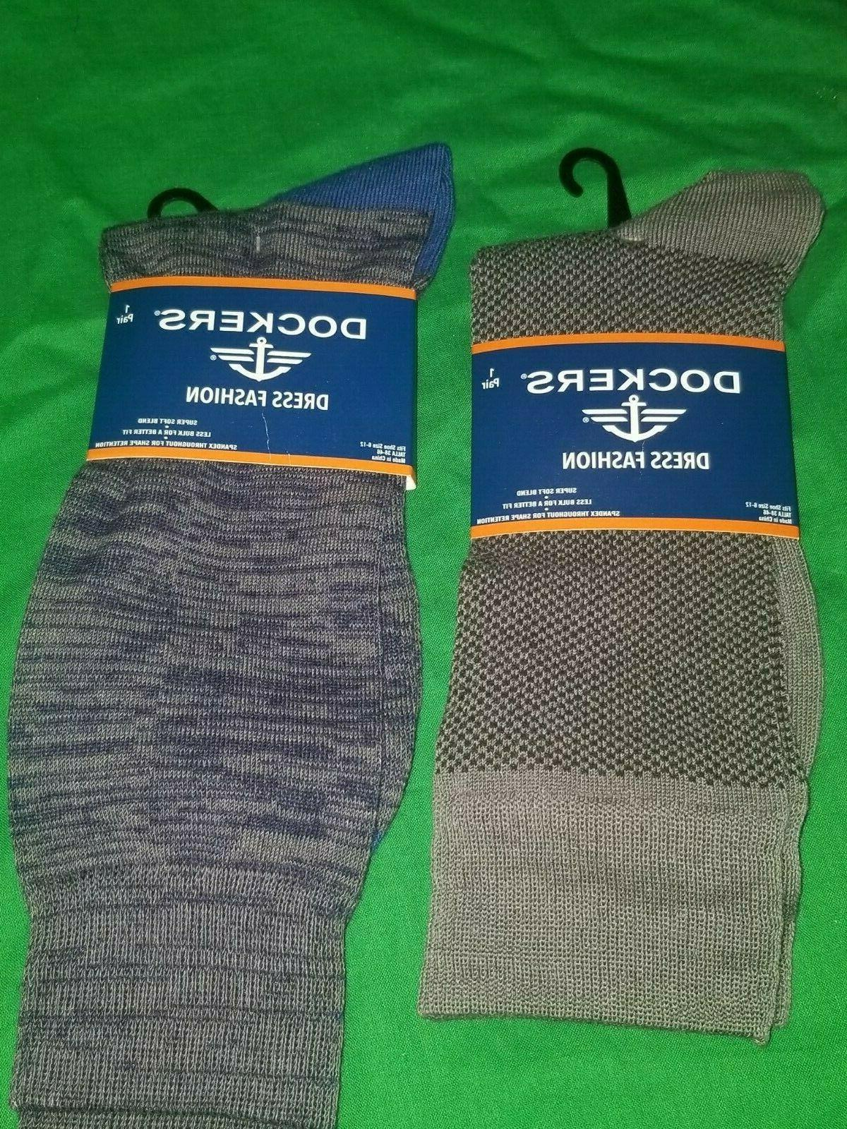 Dockers 2 Pair Gray Size 6-12 Poly