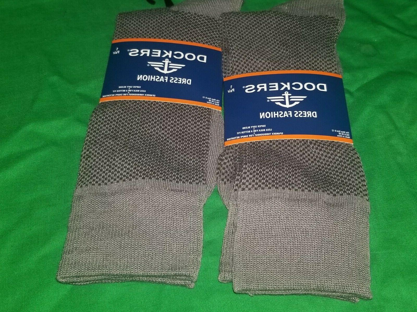 men s dress socks 2 pair nwt